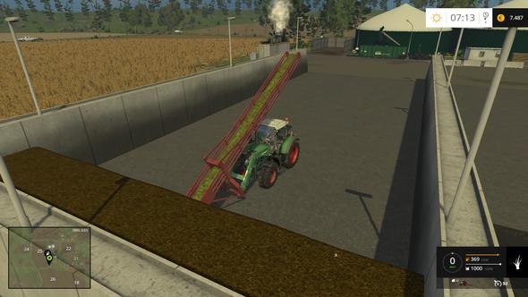 Beim Aufladen wird die Silage aber als Gras angezeigt - kein Verkauf möglich - (Computer, Computerspiele, Mods)
