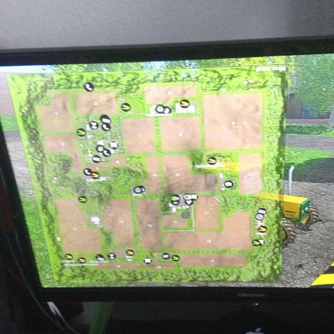 Die Karte  - (PS4, Landwirtschaftssimulator)