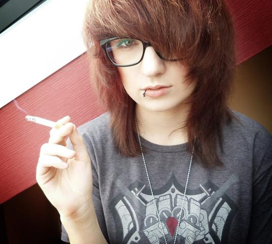 ^^ - (Frisur, Emo, Haarschnitt)