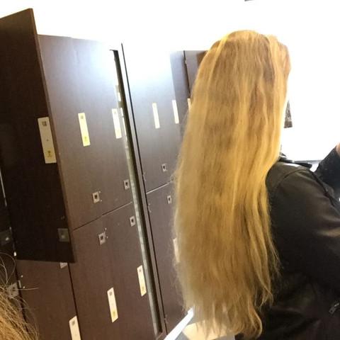 Lange Haare Ab Oder Nicht Frisur Frisör
