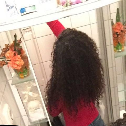 Lange dicke haare kammen