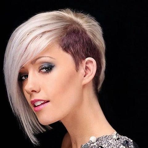 """Kurzer"" Sidecut - (Haare, Frisur, Friseur)"