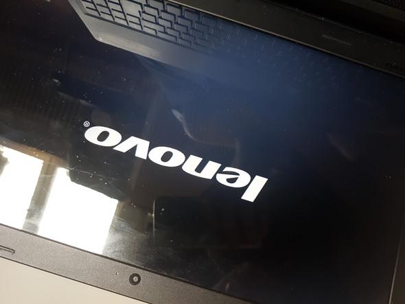 Laptop bleibt beim Lenovo zeichen hängen?