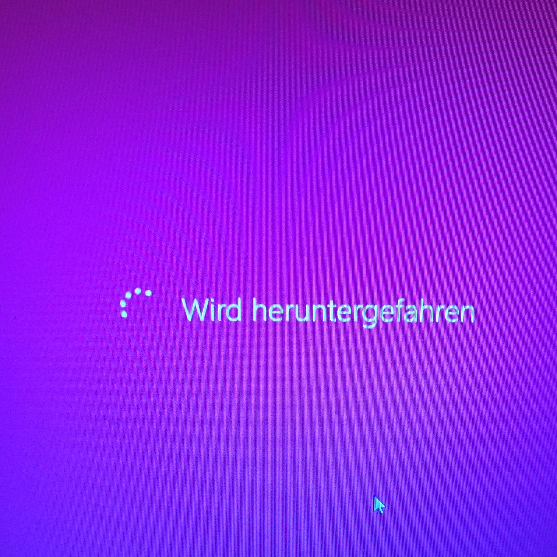 Laptop Fährt Nicht Mehr Runter