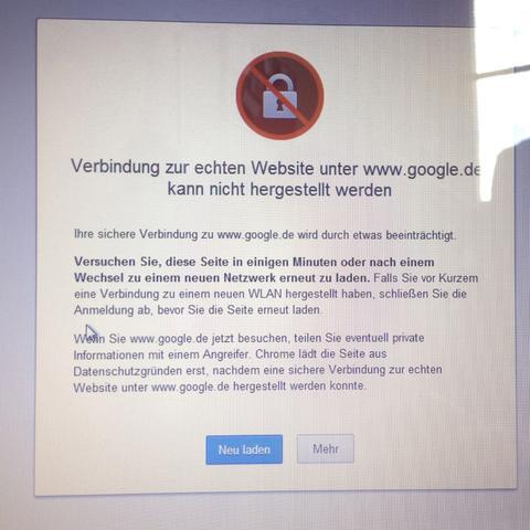 Das kommt wenn ich dem browser öffne - (Internet, Virus)