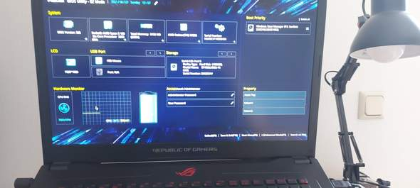 Laptop Lüfter regeln über Bios?