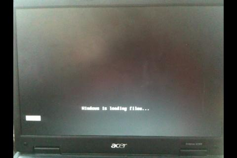Files werden geladen von der CD - (PC, Acer, Absturz)