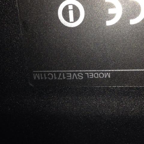 Seriennummer - (PC, Sony, VAIO)