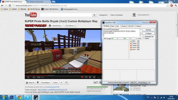Speed Fan - (Games, Youtube, überhitzt)