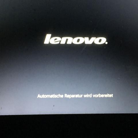 Direkt nach dem Startbild (einfach nur Lenovo) - (Computer, PC, Laptop)