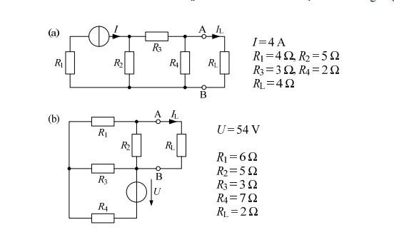 Schaltskizzen - (Elektrotechnik, Ersatzspannung, Laststrom)