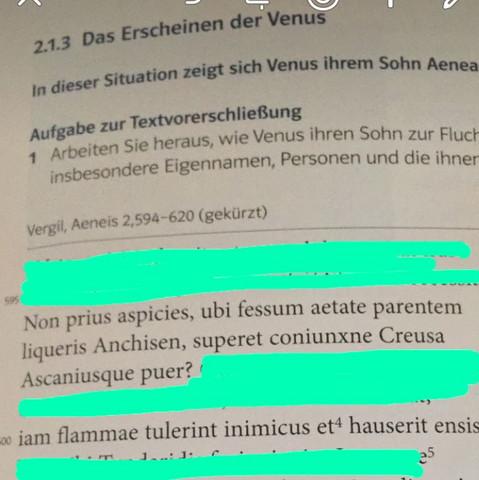 ..... - (Schule, Sprache, Latein)