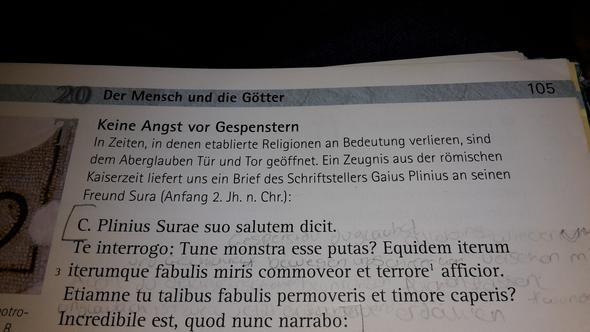 Text - (Übersetzung, Latein)