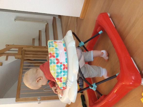 Hinten - (Baby, Lauflernwagen)