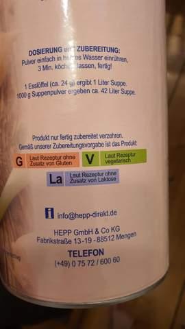 """""""Laut Rezeptur vegetarisch""""?"""