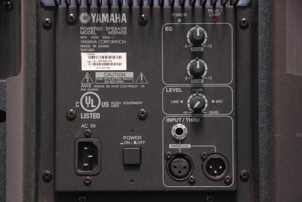 YamahaMSR - (Technik, Elektronik, Lautsprecher)