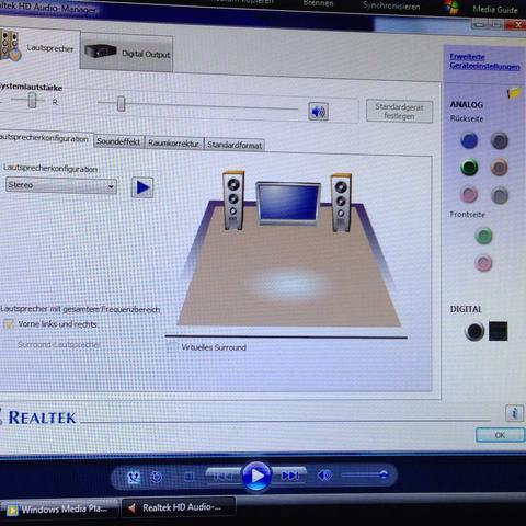 Einstellen - (PC, Lautsprecher, Kabel)