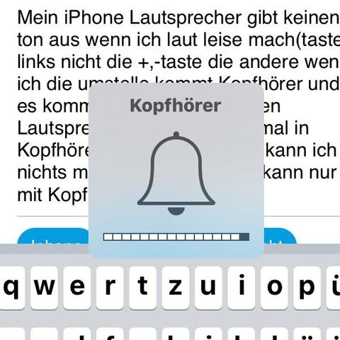 Bitte tipp - (iPhone, Lautsprecher, geht)