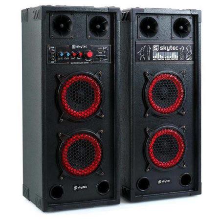*Vorhandenes Soundsystem (Skytec SPB-26 Aktiv Passiv Boxen Set 600) - (Technik, Lautsprecher, HiFi)