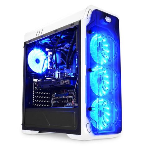 LC-Power Gaming 988W, Midi-Tower, PC, Metall, ATX,Micro-ATX,Mini-ITX, Weiß, Gaming kann man da ein dvd Laufwerk verbauen?