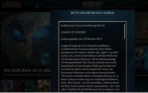 league of legends lässt sich nicht installieren