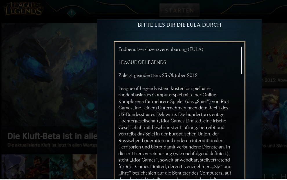 League Of Legends Neu Installieren