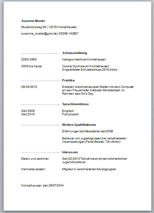 Fantastisch Lebenslauf Für Bartending Job Zeitgenössisch - Entry ...