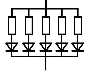 LED-Parallelschaltung auch als Reihenschaltung der Widerstände ...
