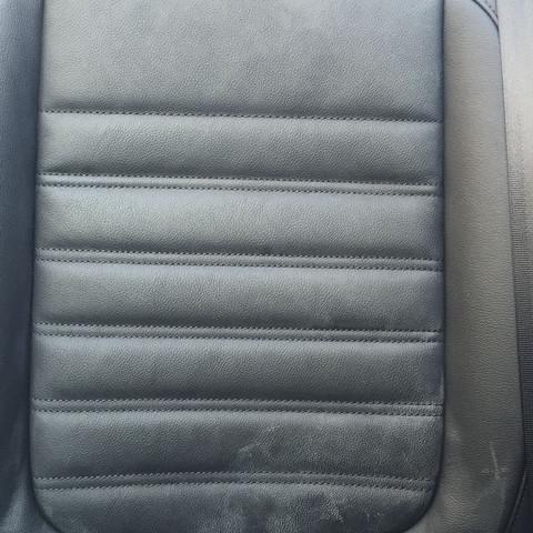 Ledersitze Rückbank VW Beetle Cabrio gleiches Bild  - (Flecken, VW, weiß)