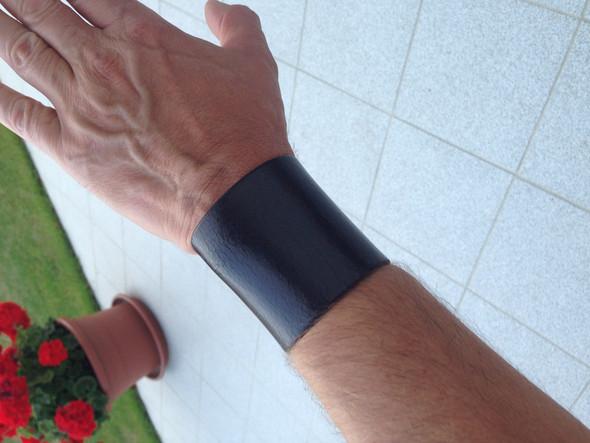 Mein Lederarmband - (Armband, Lederarmband, Handgelenkbandage)