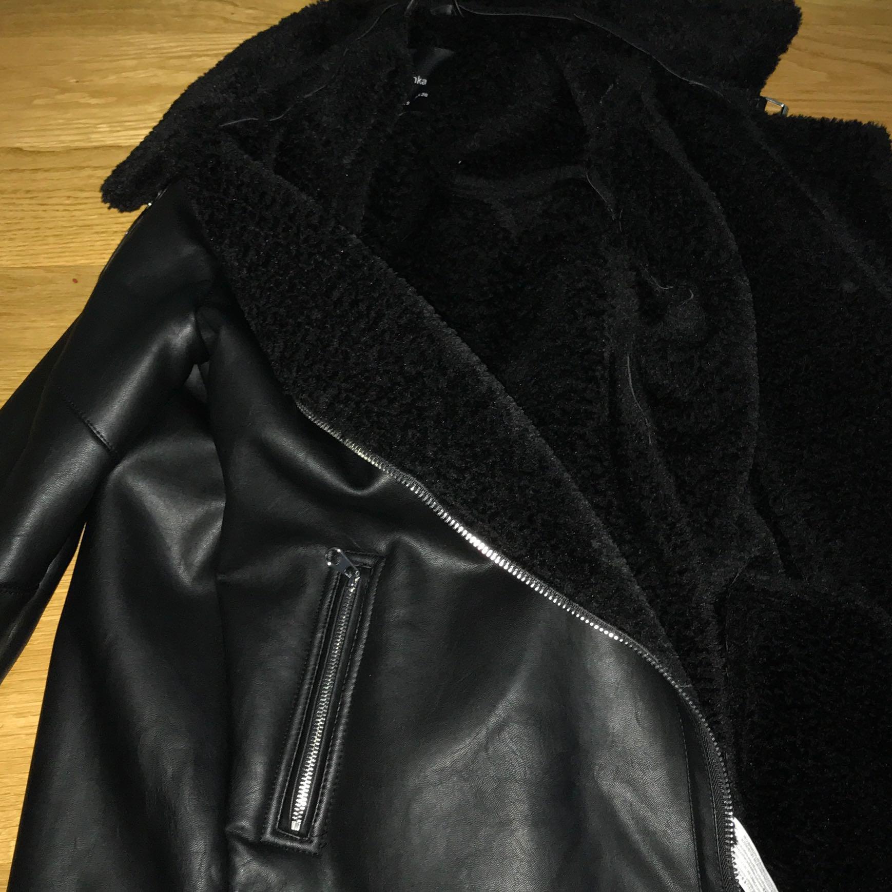 Lederjacke mit Fell in Waschmaschine? (Jacke, Reinigung, Geruch)