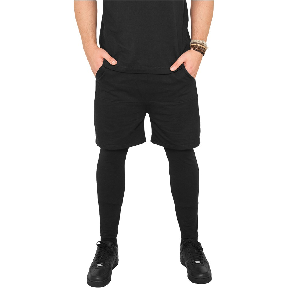 Leggings mit kurzer Hose als Mann? (Sport Frauen Mode)