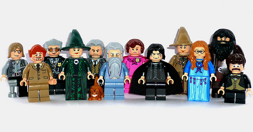 HP-Professoren - (Harry Potter, Lego)