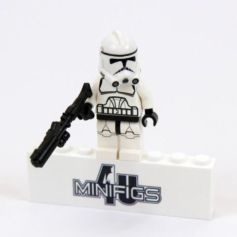 Phase 2 clone trooper - (Star Wars, Lego)
