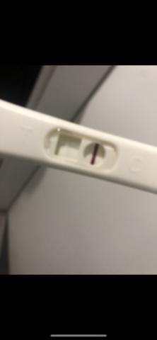 Positiver schwangerschafts test