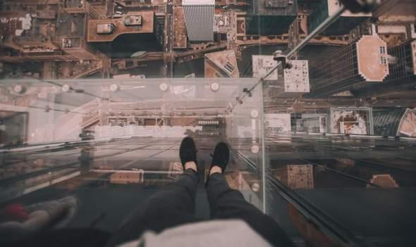 Leidet jemand unter Höhenangst?