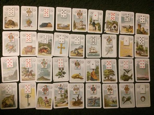 Kartenlegen, einmal mischen bitte - (Freizeit, Psychologie, Hobby)