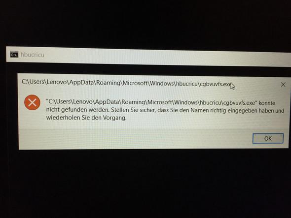 Lenovo Ideapad 330s nach dem starten Fehlermeldung. Wie kann ich das beheben?