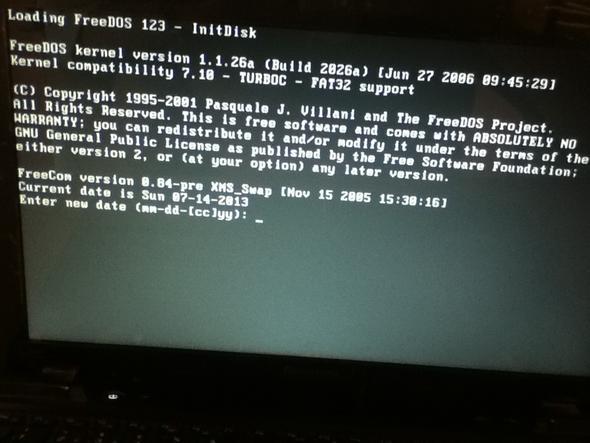 Die Anzeige  - (Notebook, Lenovo, Startbildschirm)