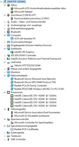 Gerätemanager - (Computer, Internet, Technik)
