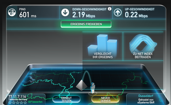 1&1 Internet Speed-Test - (Internet, Programm)