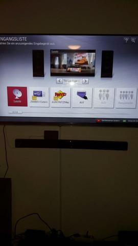 Menü 1 - (TV, Fernseher, LG TV)