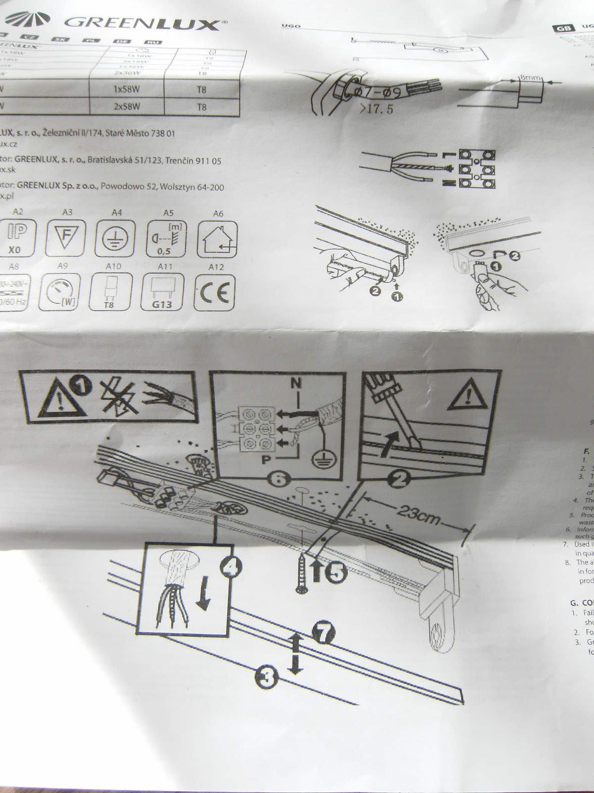 Lichtleiste anschließen (Elektronik, Strom, Kabel)