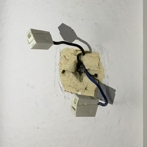 lichtschalter entfernen f r dauerstrom strom elektrik licht. Black Bedroom Furniture Sets. Home Design Ideas