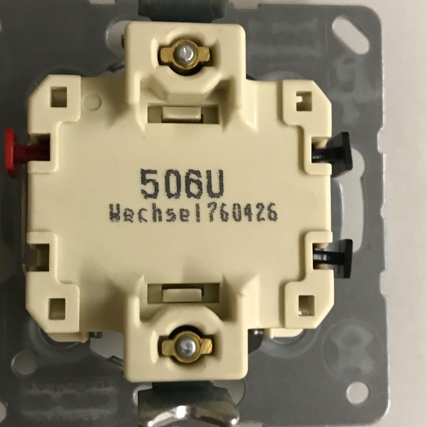 Lichtschalter tauschen alter Schalter 4Kabel neuer nur 3 Anschlüsse ...