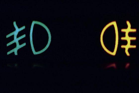 Lichtsymbole Am Auto Führerschein Licht Symbol