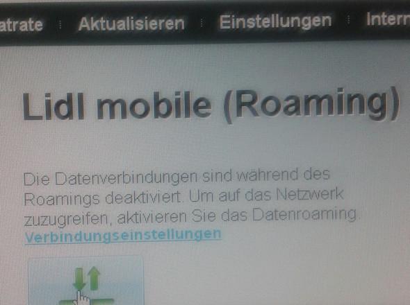 Bild3 - (Internetstick, Roaming, lidl-mobile)