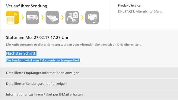 DHL - (DHL, DPD, Fastnacht)