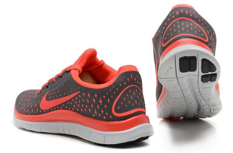 Nike Free Damen Grau Orange