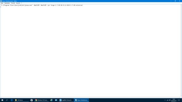 minecraft server mehr ram zuweisen